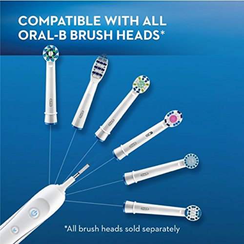 Oral-B Pro 5000 SmartSeries Power Rechargeable Electric Toothbrush with Bluetooth Connectivity Powered by Braun by Oral B (Image #8)