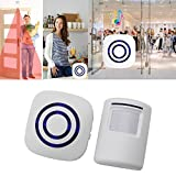 Kangnice Wireless Infrared Motion Sensor Door Security Bell Alarm Chime