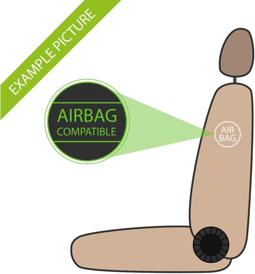 rmg-distribuzione Coprisedili per C4 Cactus Versione compatibili con sedili con airbag bracciolo Laterale sedili Posteriori sdoppiabili R01S0115 2014 - in Poi