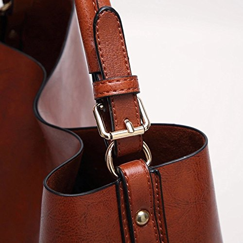 Women Handbags Designer Ladies Satchel Hobo Bags Tote PU Leather Handbags Shoulder Purse by BragBag (Image #9)