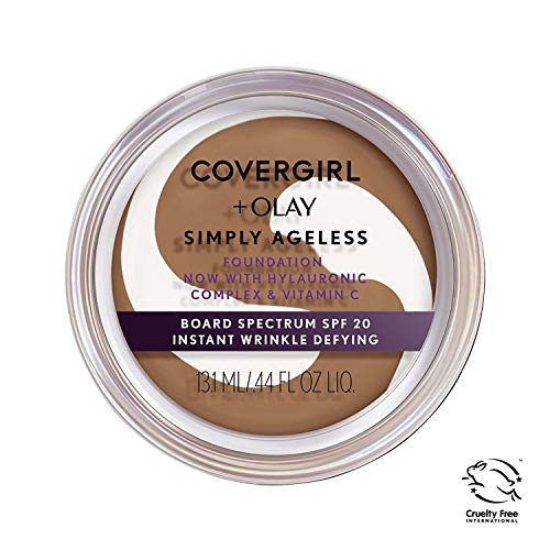 Covergirl & Olay Simply Ageless Instant Wrinkle-Defying Foundation, Classic Tan