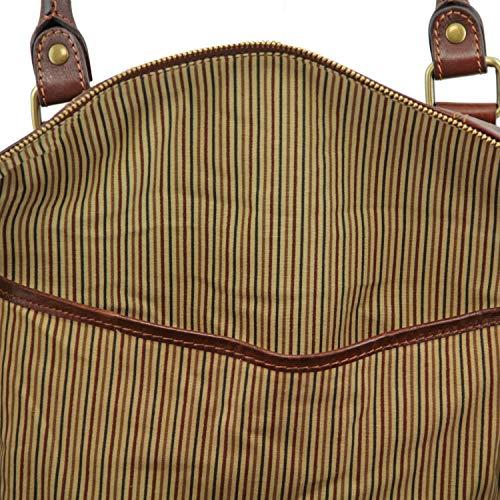 Leather Tl In Grande Da Tuscany PelleMisura Tl141794marroneMiele Viaggio Voyager Borsa 0wNX8kZnOP