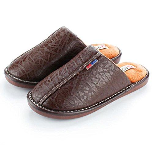 006 Pelle Ciabatte Cotone In Invernali Casa 42 Pantofole Per Comfort Zhang2 Respirabile Coppie Caldo Antiscivolo Eu Uomini eu43 Interna Donne qEnCSwIxpU