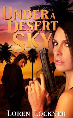 Under A Desert Sky (Pool Palm Tree)