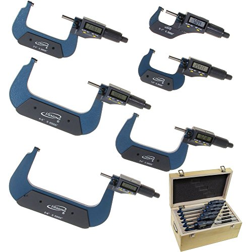 Digital Micrometer Set - iGaging 0-6