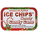 Ice Chips Candy naturally sweetened with xylitol Candy Cane 1.76 ounce