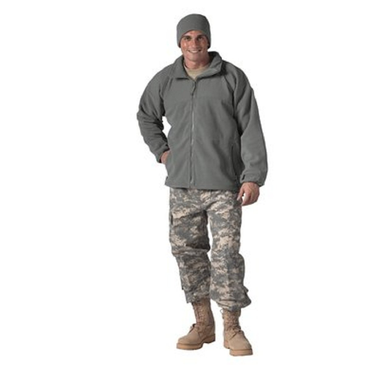 Rothco Military ECWCS Polar Fleece Jacket/Liner, Foliage Green - X Large R9778