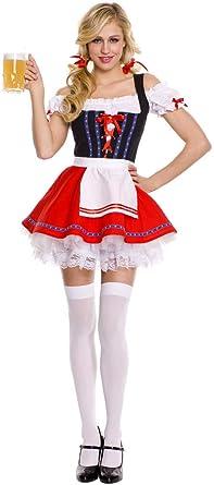Mylujo - Disfraz de bávaro para Mujer, Vestido de Fiesta de ...