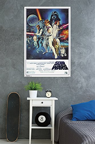 Trends International Star Wars IV One sheet Collector's Edition Wall Poster 24'' x 36''