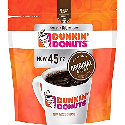 Original Blend Ground Coffee, Medium Roast (45 oz.)