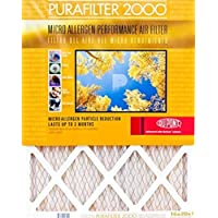 Purafilter Gold 20x22x1 (Actual Size) (MERV 11) 1-Inch Filter (4 Pack)