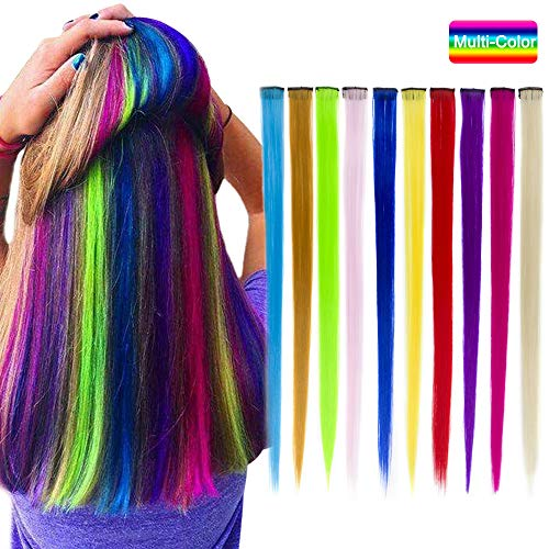 Carina Extensions Hairpieces Highlights Multi Color