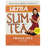 Ultra Slim Tea, Orange Spice, Tea Bags, 24 Count Box