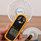 USB Desktop Cooling Fan with Rechargeable