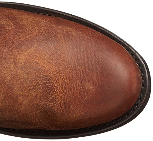 Stetson Women's Dover Western Boot Matte Brown Pt41BDC
