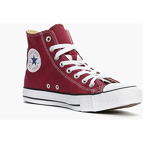 Converse All Star Hi Tops - Converse Unisex Chuck Taylor All Star Hi-Top Shoes, Maroon, 11.5 B(M) US Women / 9.5 D(M) US Men