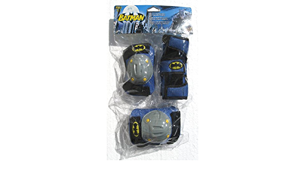 Details about  /Batman Bike Accessories Set Knee Pads Elbow Pads Bell Water Bottle All New