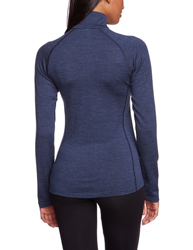 Northland Professional Pure 250 XT - Camiseta interior de manga larga para mujer azul azul Talla:42/44 azul - azul