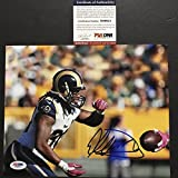 Autographed/Signed Todd Gurley Los Angeles Rams 8x10 Football Photo PSA/DNA COA Auto #9