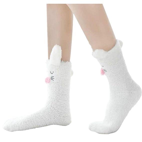 ZARLLE_Calcetines Navidad Calcetines, adultos para dormir/toallas calientes Calcetines otoñales/invernales / medias para tubo: Amazon.es: Ropa y accesorios