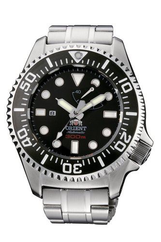 Orient Men s CFD0C001B Professional Diver Black Automatic Watch