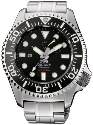 Orient Men's CFD0C001B Professional Diver Black Automatic Watch
