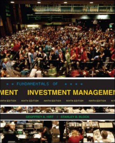 Fundamentals of Investment Management with S&P bind-in card