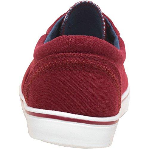 Designer ME , Baskets mode pour homme Rouge bordeaux - Rouge - bordeaux, 42 EU