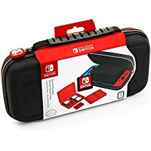 Deluxe Game Travel Case All Black - Switch