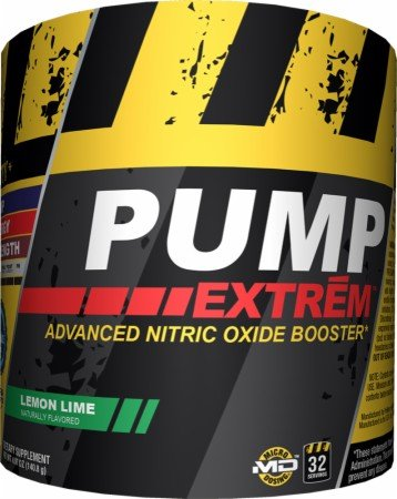 Promera Pump Extreme Advanced Nitric Oxide Booster Lemon Lime -- 32 Servings by ProMera Sports