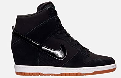on sale d8d34 a5468 Image Unavailable. Image not available for. Color  Nike Dunk Sky HI  Essential Womens Fashion Wedge Shoes ...