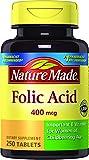 Cheap Nature Made Folic Acid, 250 ct