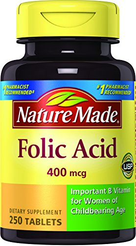 Nature Made Folic Acid, 250 ct (Supplements Folic Acid)