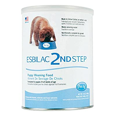 PetAg Esbilac 2nd Step Puppy Weaning Food 14oz from PetAg