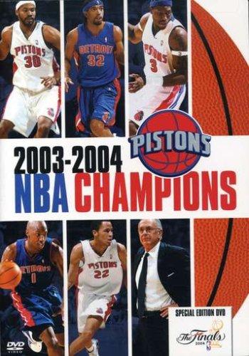 - 2003-2004 NBA Champions: Detroit Pistons