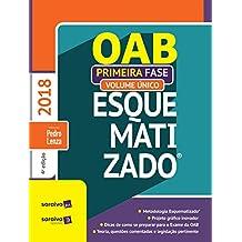 Oab Esquematizado. 1ª Fase - Volume Único