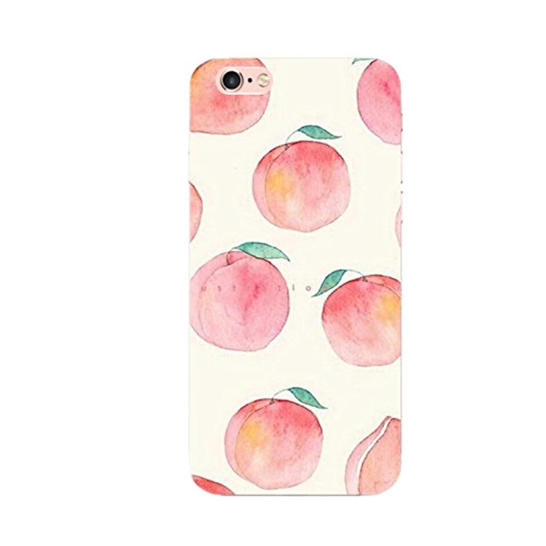 Funda iPhone 6 Plus 6s Plus, Golbsky Suave Soft Transparente TPU Funda Adorable Parachoques Funda Case Cover Carcasa Para iPhone 6 6s