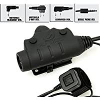 Z-TAC Airsoft U94 PTT NEW Version for Military Aviation headset