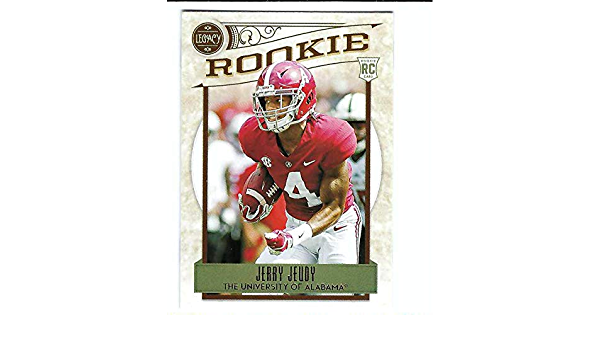 2020 Panini Legacy Football #146 Jerry Jeudy Alabama Crimson Tide RC Rookie Card