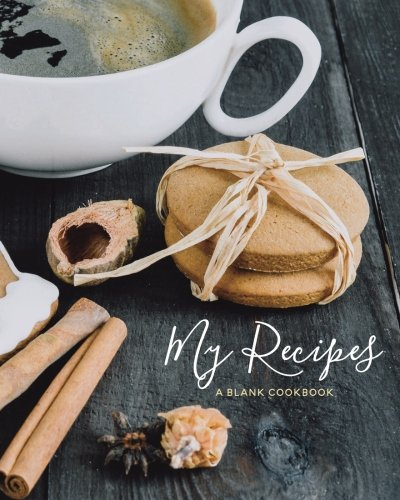 My Recipes: Blank Christmas Recipe Journal: A Blank Cookbook (Holiday Recipe Journals) (Volume 6) by Journals for Women