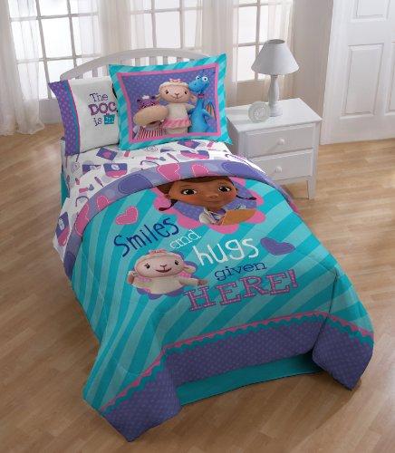 Amazon.com: Disney Junior Doc McStuffins 3 Piece Twin Sheet Set ...