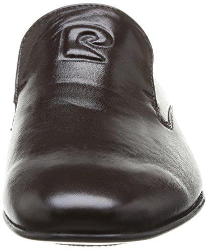 Pierre Cardin Curling - Zapatos de Cordones de cuero hombre marrón - Marron (Prestige Marron)