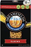 Dreamfields Pasta Healthy Carb Living, Elbow Macaroni, 13.25-Ounce Boxes (Pack of 12) by Dreamfields