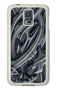 Green Bio Custom Samsung Galaxy S5/Samsung S5 Case Cover Polycarbonate White