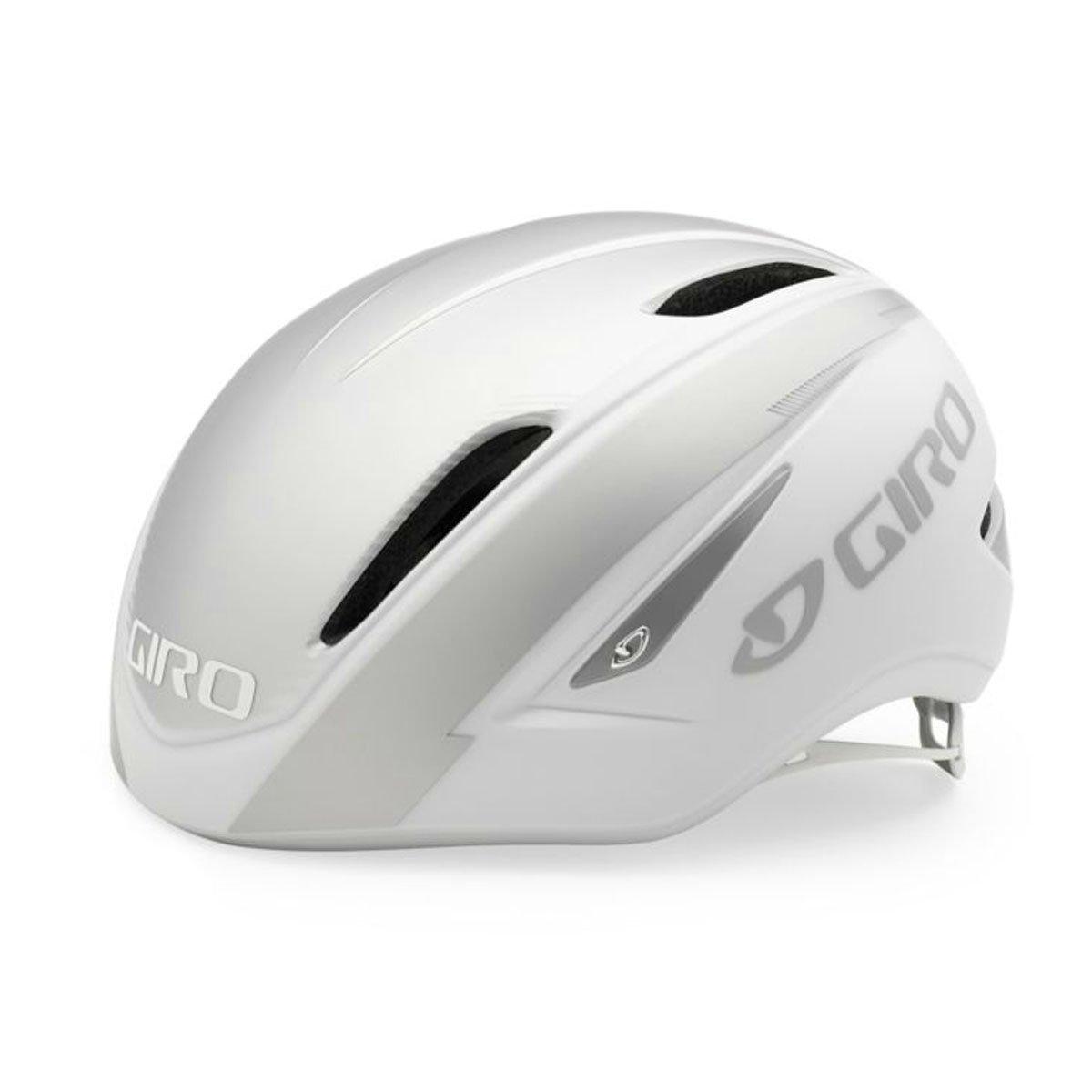 GIRO(ジロ) ヘルメット AIR ATTACK WHT/SLV Mサイズ   B00MX38R52