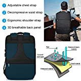 Large Travel Backpack with USB Charging and