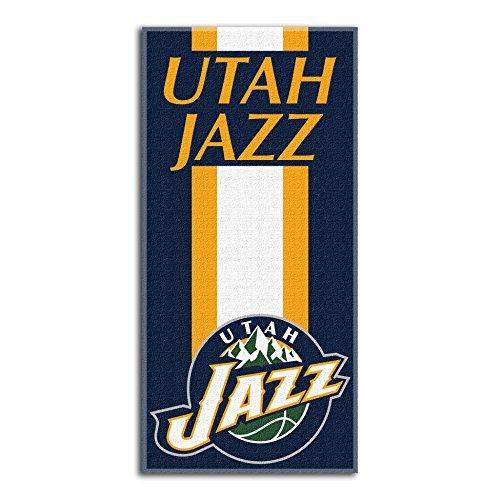 fan products of Northwest NBA Utah Jazz Beach Towel, 30 X 60 Inches