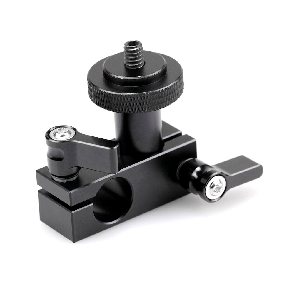 SMALLRIG 1112 15mm Rod Clamp Adapter to Field Monitor/EVF...