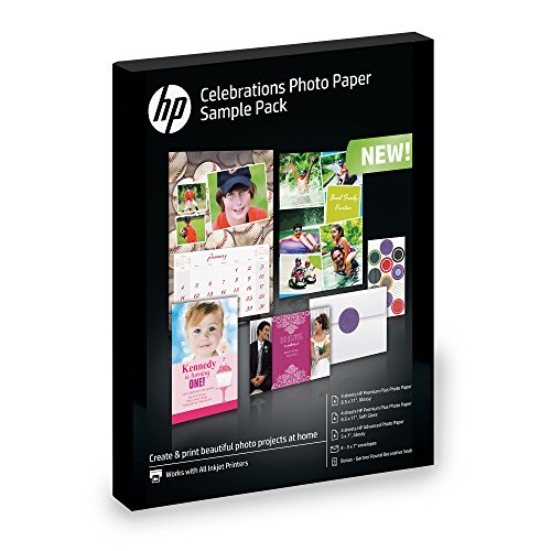rtment (5x7, 8.5x11, envelopes) 12 sheets (Hp Color Laser Glossy Photo Paper)