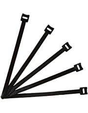 AmazonBasics Reusable Cable Ties - 8-Inch, 50-Pack